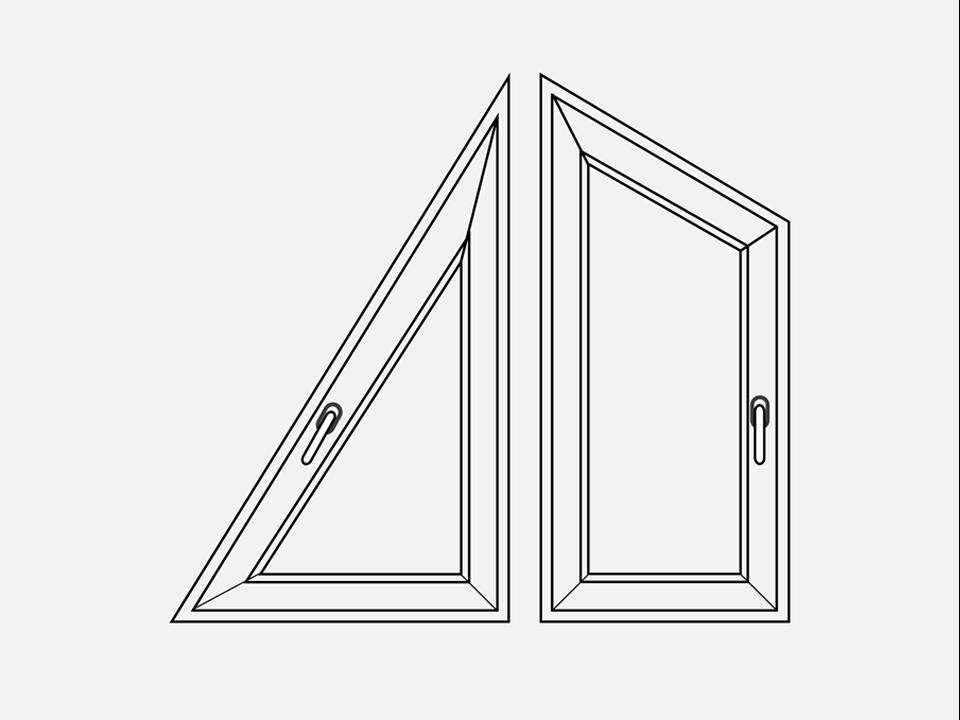 Треугольные, трапецевидные