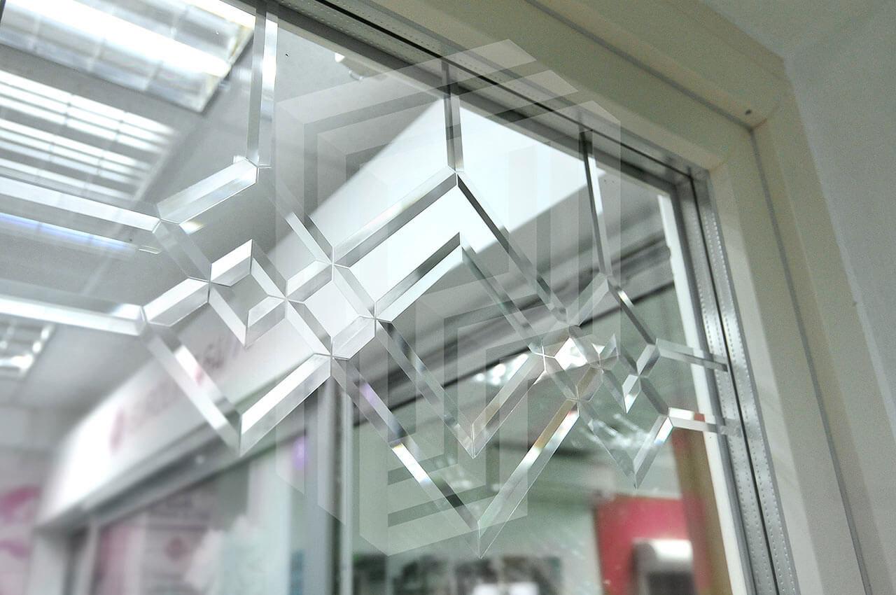 Декор стекла