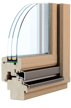 Профильная система Wood Standart, сосна